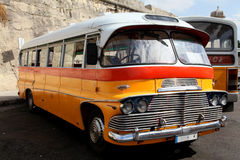 Maltese bus royalty free stock photography