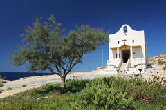 Maltese church. A church on the island of Malta Royalty Free Stock Images