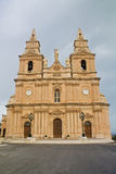 Maltese Church. Church at Mellieha village on Malta Stock Images