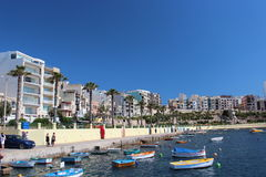Maltese coast Royalty Free Stock Photos