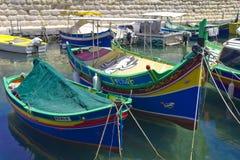 Maltese luzzu  Royalty Free Stock Image