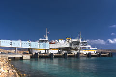 Malta, Coastline view. Ferry terminal in the northwest part of the mainland, Cirkewwa, Malta Stock Photo