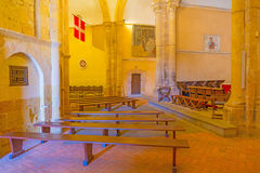 Maltese Cross church in Segovia. In Spain Royalty Free Stock Photos