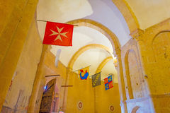 Maltese Cross church in Segovia. In Spain Royalty Free Stock Photo