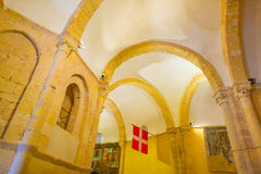 Maltese Cross church in Segovia. In Spain Royalty Free Stock Photography