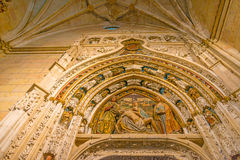 Maltese Cross church in Segovia. In Spain Royalty Free Stock Images