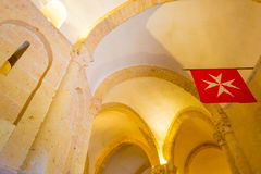 Maltese Cross church in Segovia. In Spain Stock Image