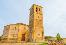 Maltese Cross church in Segovia. In sunlight Stock Photos