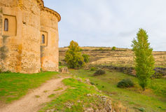 Maltese Cross church in Segovia. In sunlight Stock Images