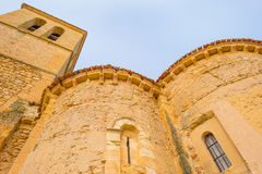 Maltese Cross church in Segovia. In sunlight Royalty Free Stock Photos