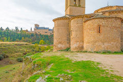 Maltese Cross church in Segovia. In sunlight Stock Photo