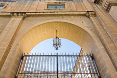 Maltese cross lamp Royalty Free Stock Photo