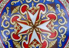 Maltese cross. A macro shot of Maltese cross Royalty Free Stock Image