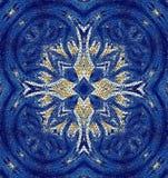 Maltese cross mosaic stock photos