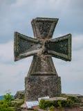 Maltese cross. At Stepanka view tower (Korenov, Czech Republic Stock Photos