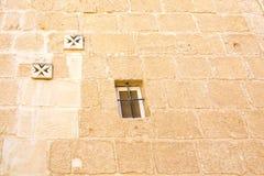 Maltese cross wall Royalty Free Stock Photo