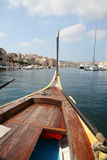 Maltese Dghajsa water taxi Royalty Free Stock Photography