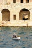 A Maltese fisherman royalty free stock photography