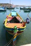 Maltese fishing boat Royalty Free Stock Photography