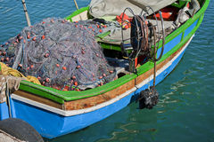 Maltese fishing boat Royalty Free Stock Photo