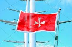 Maltese Flag Stock Photography