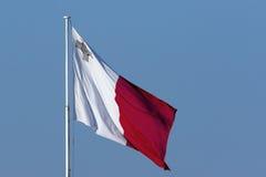 Maltese Flag. The national flag of Malta Stock Photography