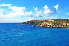 Maltese islands. On Mediterranean sea Royalty Free Stock Photography