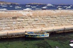 Maltese Kustlijn Royalty-vrije Stock Afbeeldingen