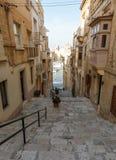 Maltese narrow street Stock Images
