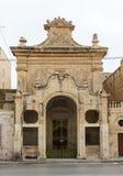 Maltese narrow street Mdina, Malta Stock Images