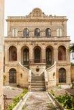 Maltese narrow street Mdina, Malta Royalty Free Stock Image