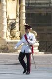 Malta - Military parade Royalty Free Stock Photo