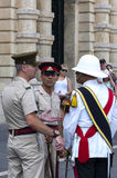 Maltese officers  Royalty Free Stock Photo