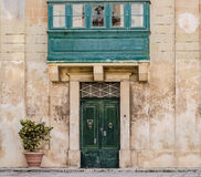 Maltese Palazzo. Facade of a Maltese Palazzo in Mdina Royalty Free Stock Photography