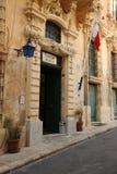 Maltese police station. Maltese police 'Pulizija' station, Valetta, Malta March 2013 Stock Images