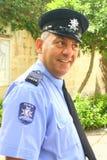 Maltese policeman on duty Royalty Free Stock Photography
