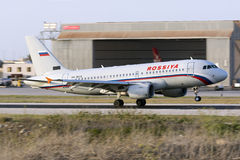 Maltese registered A319 Royalty Free Stock Photos