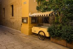 Maltese story. Mdina Rabat. Malta. On the streets of the ancient city of Mdina Royalty Free Stock Image