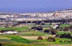 Maltesische Landschaft Stockbild