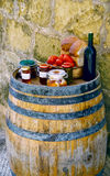 Maltesische Nahrung stockbilder