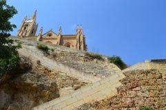 Maltesisk geometri (Gozo) Arkivfoto