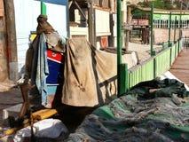 Maltesiska fiskares fartyg royaltyfri bild