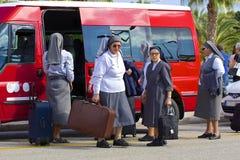 Maltesiska nunnor Royaltyfria Bilder