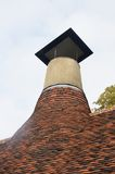 Maltings Chimney. Traditional old english Maltings Chimney Royalty Free Stock Image