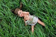 Maltrattamento ed abuso dei bambini Fotografia Stock