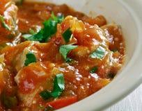 Malu Mirisata. Spicy Sri Lankan fish curry Stock Photo