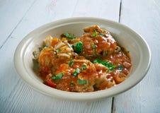Malu Mirisata. Spicy Sri Lankan fish curry Stock Image