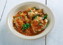 Malu Mirisata. Spicy Sri Lankan fish curry Royalty Free Stock Image
