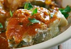 Malu Mirisata. Spicy Sri Lankan fish curry Royalty Free Stock Images