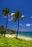 Maluaka Beach, south Maui, Hawaii, USA Royalty Free Stock Image